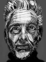 Man portrait by PE-robukka