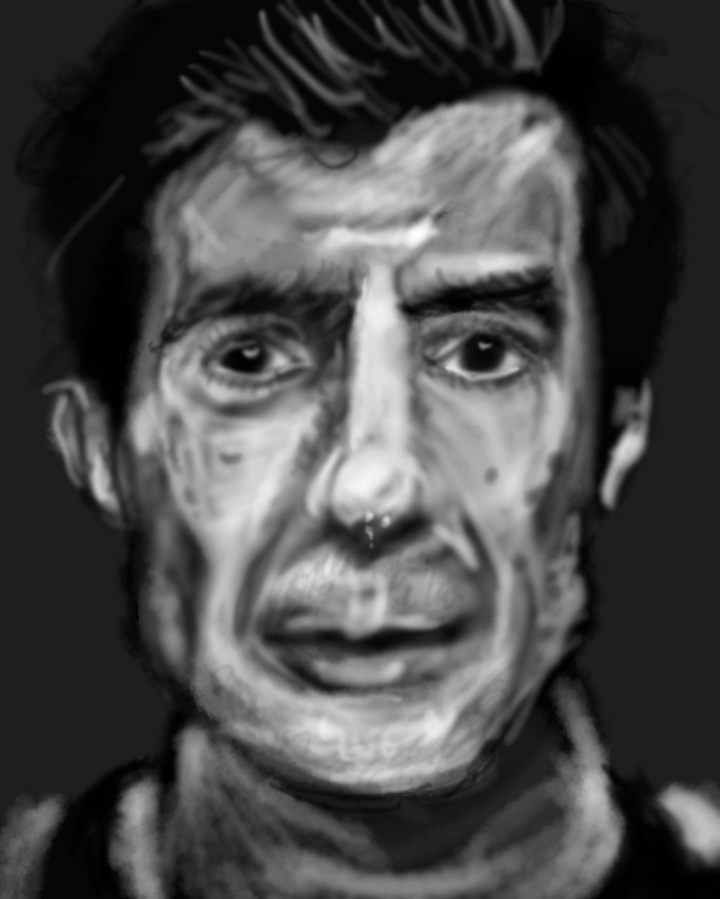Luis portrait by PE-robukka