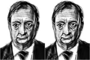 portrait progress by PE-robukka