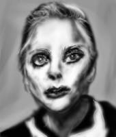 Lady Gaga portrait by PE-robukka
