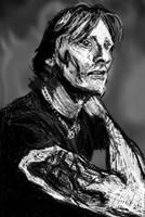 Viggo Mortensen sketch by PE-robukka