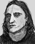 pixels portrait sketch by PE-robukka