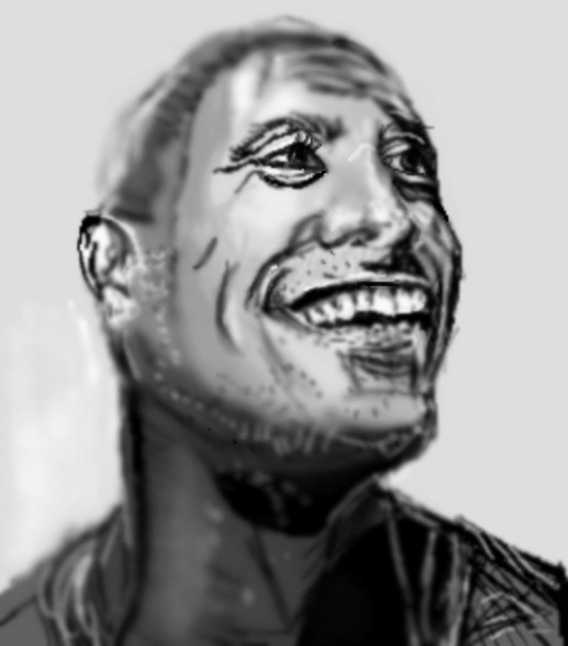 Pixels blur Sketch by PE-robukka