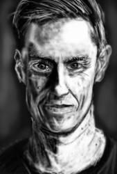 portrait sketch by PE-robukka