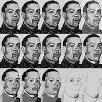 Comedian sketch process by PE-robukka