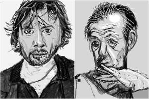 Actors sketching by PE-robukka