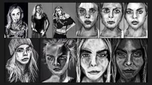 sketches 2016-2019 by PE-robukka