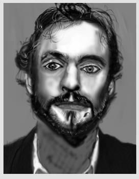 Portrait sketch man