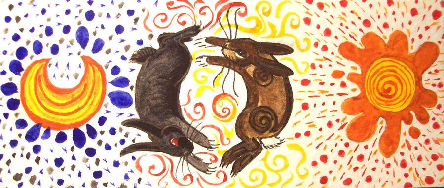 El-Ahrairah + The Black Rabbit