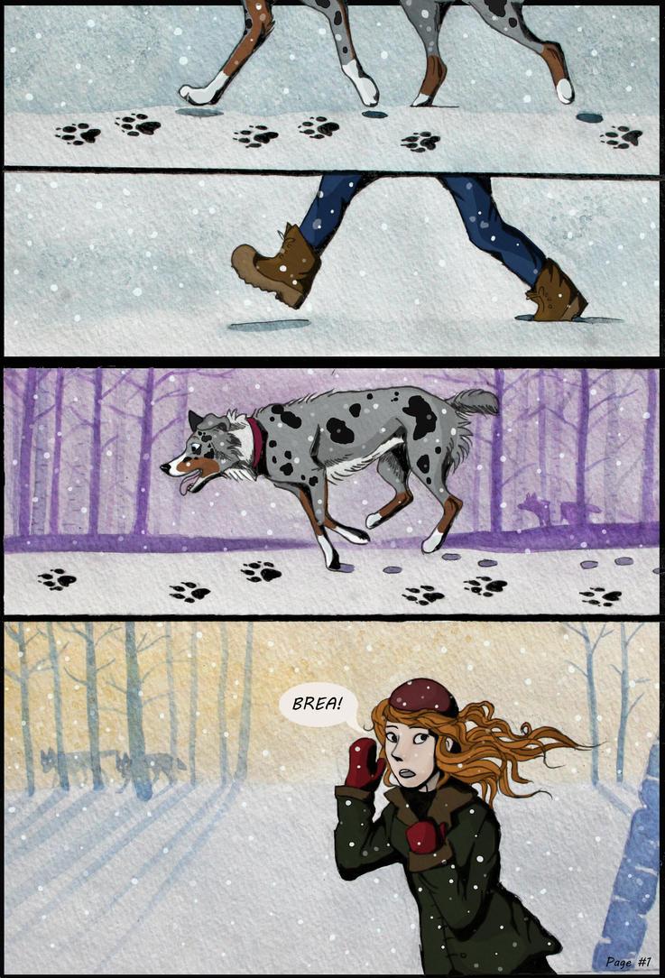 Joslyn and Brea Page #1 by VeronicaRosejones