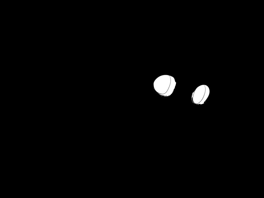 Line Art Moon : Lineart sailor moon by bakaprincess on