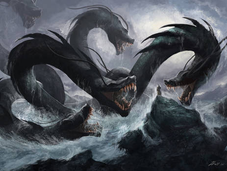 Monk vs Hydra