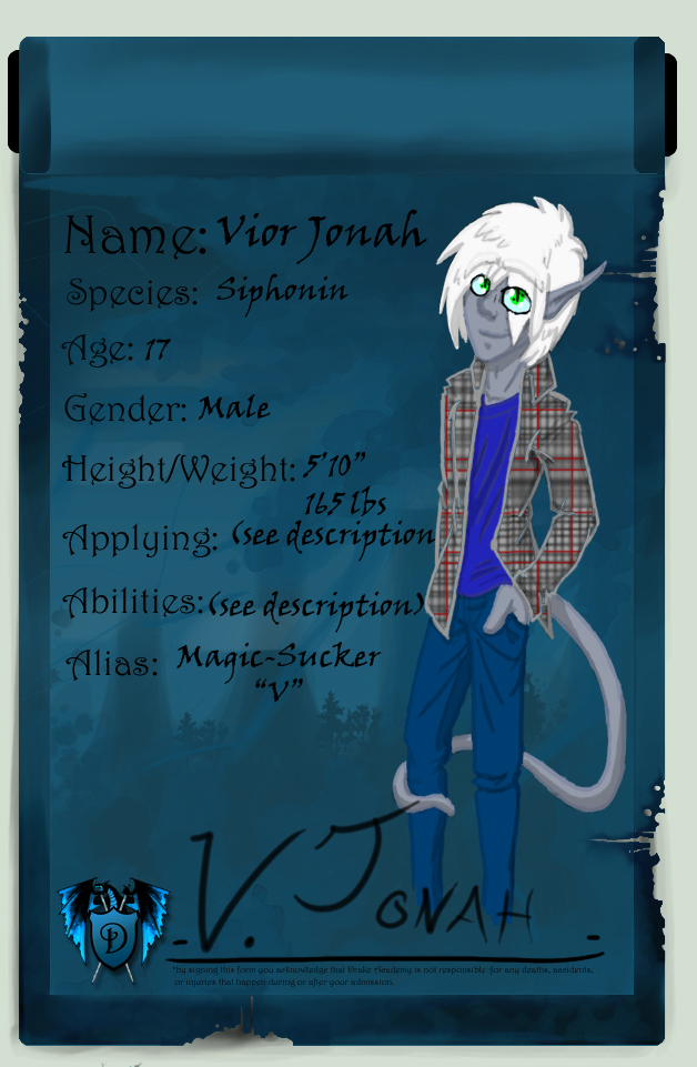 V. Jonah-Drake Acadamey App by Arianos