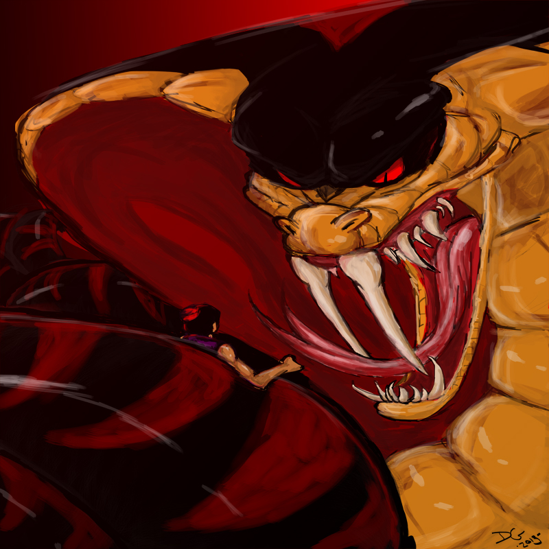 Snake jafar by mu on deviantart - Serpent aladin ...