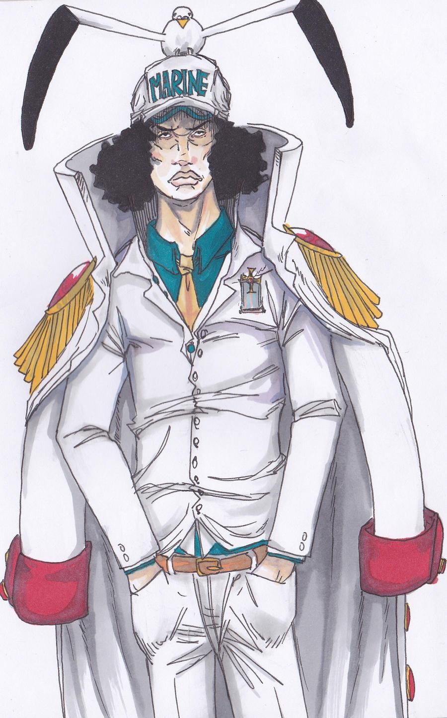 Fleet admiral one piece
