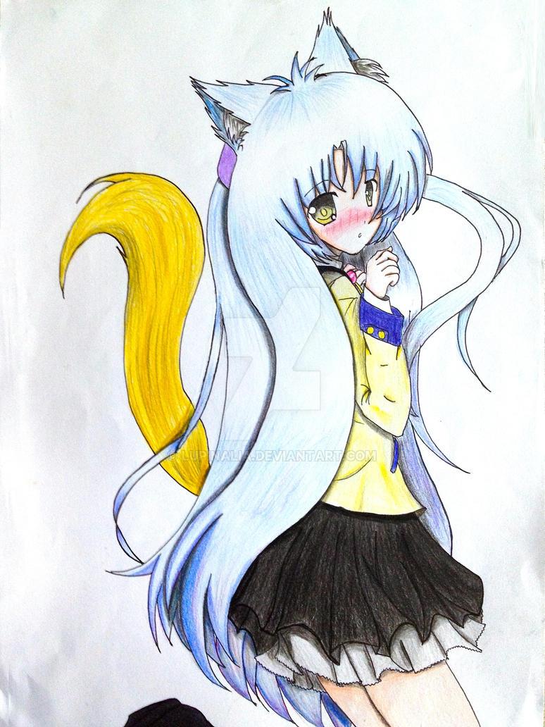 Kanade Tachibana: Kemonomimi Mode by Darktrified