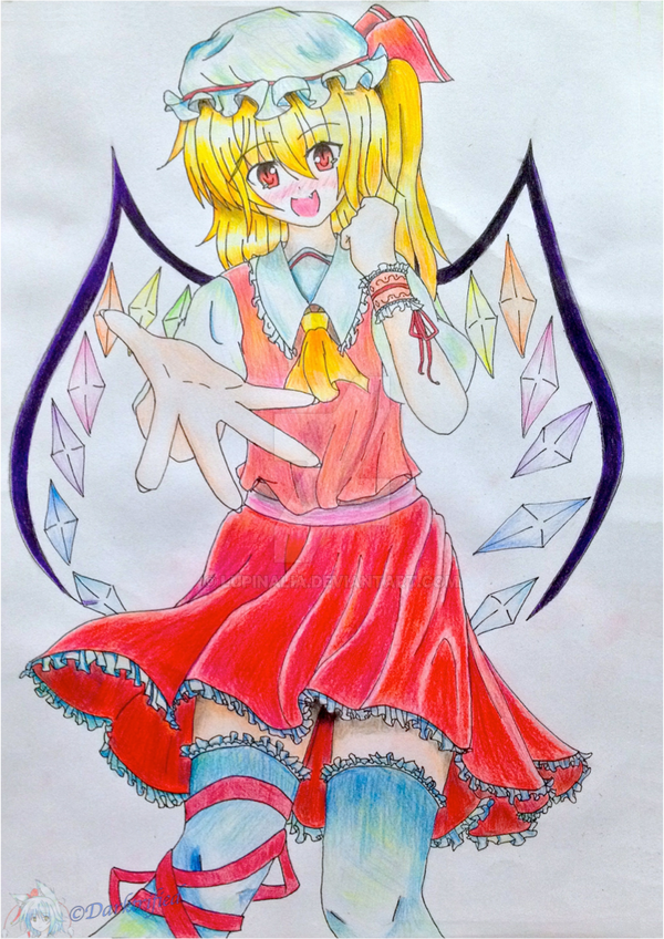 Touhou Project: Flandre Scarlet by Darktrified