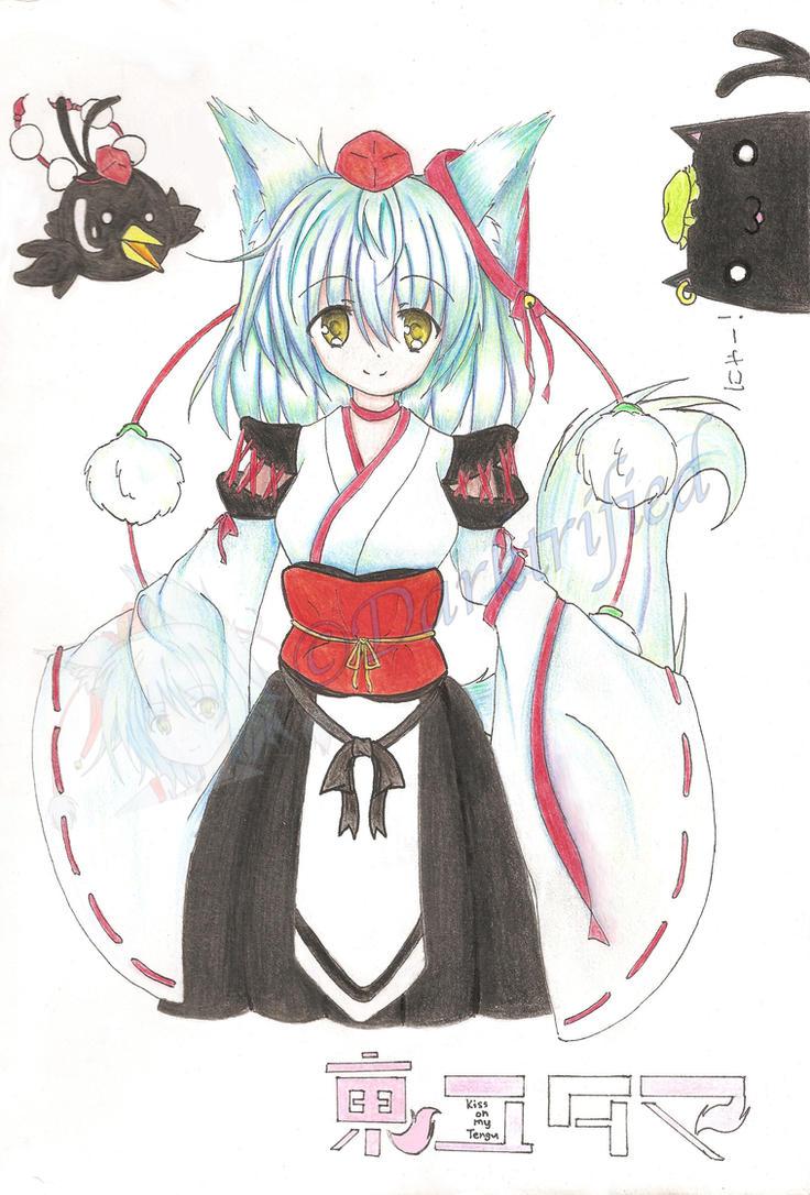 Touyutama: Kiss on my Tengu by Darktrified