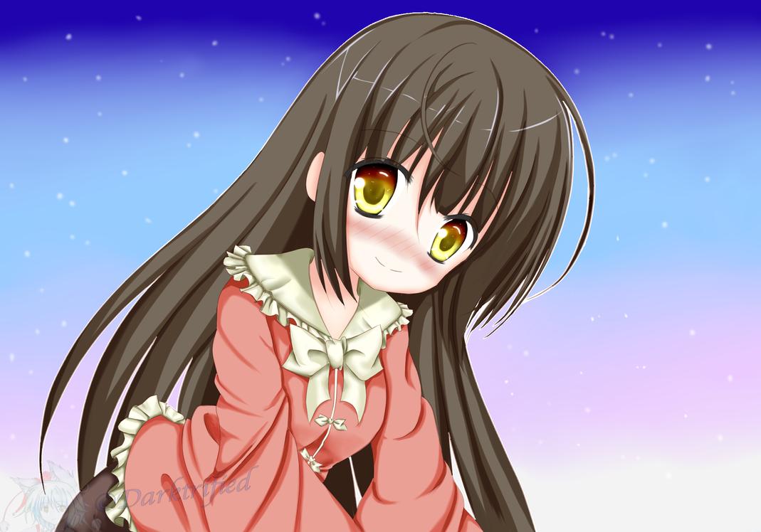 Houraisan Kaguya by Darktrified