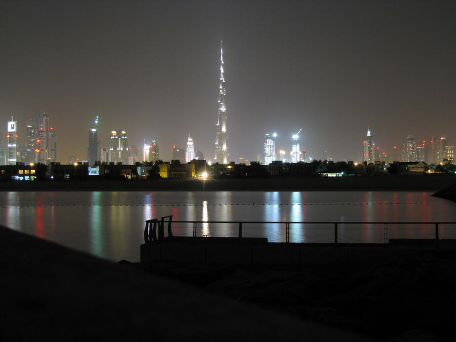 Night at The Jumeirah Beach by MARX77