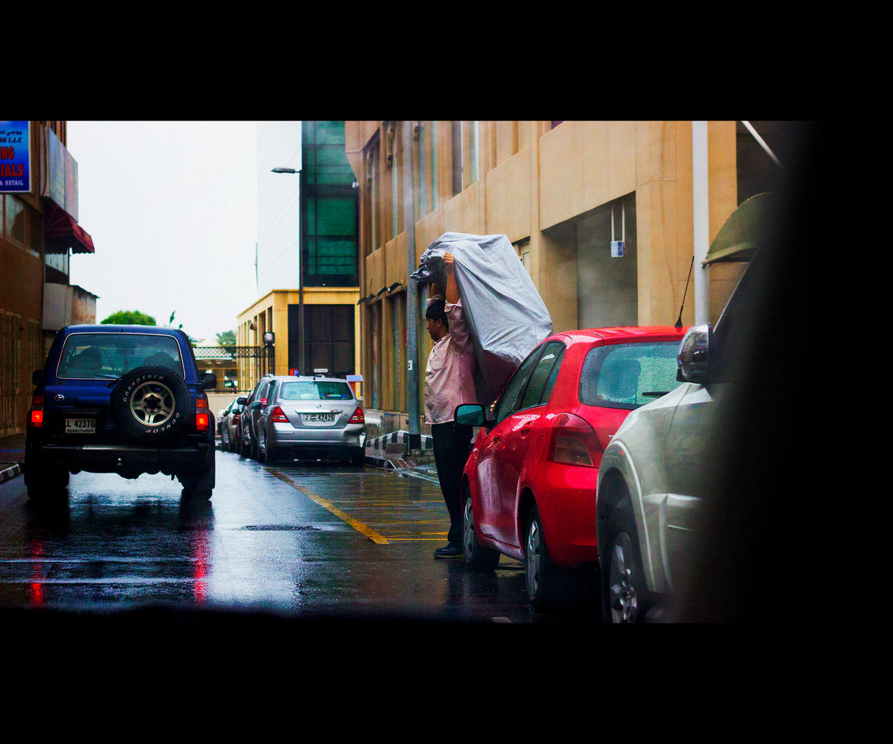 Strongman's Umbrella by MARX77