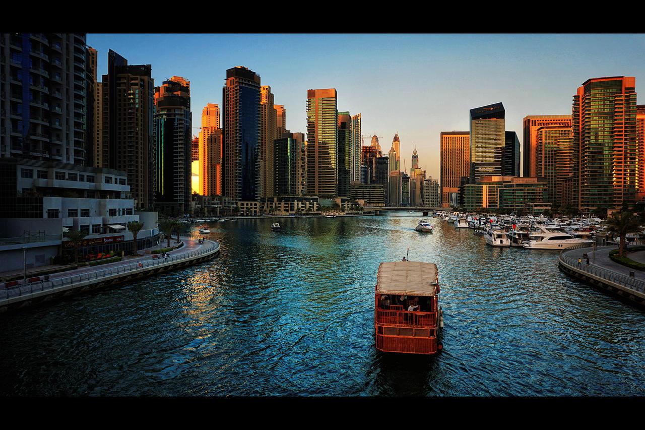Marina Bridge View by MARX77