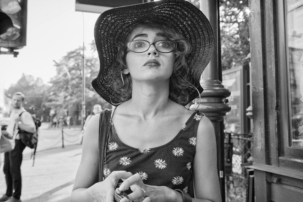 Bus Stop Portrait by sandas04