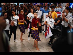 Flash Mob Nepali Style!