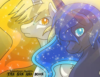 The Sun and Moon by BurnedPigeon