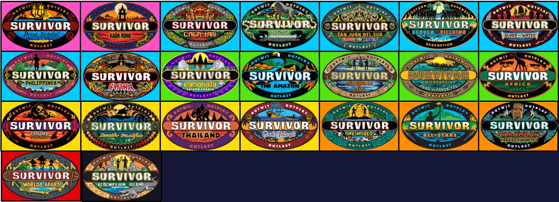 Survivor Season Rankings by SurvivorMett