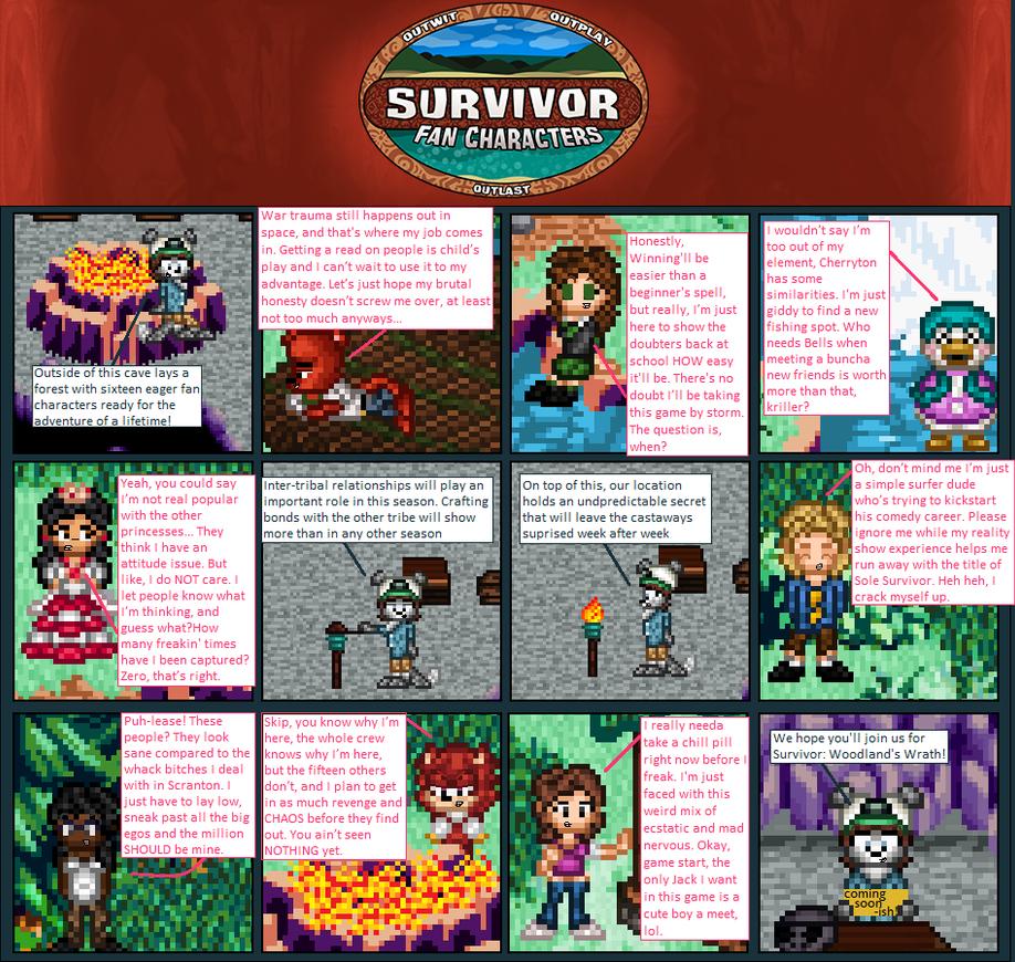 Survivor- Woodland's Wrath Preview by SurvivorMett