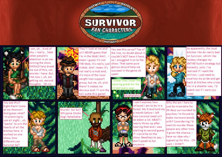 Survivor- Woodland's Wrath Second Preview by SurvivorMett