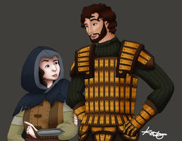 Tomlin and Madani by thisnerddoodles