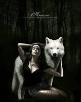 Wolf by Miesis