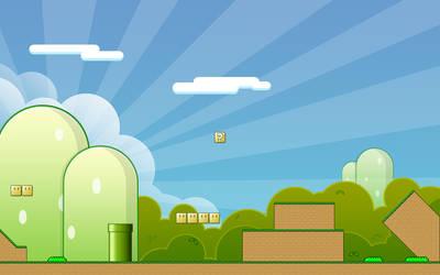 Mario World HD by KeR-