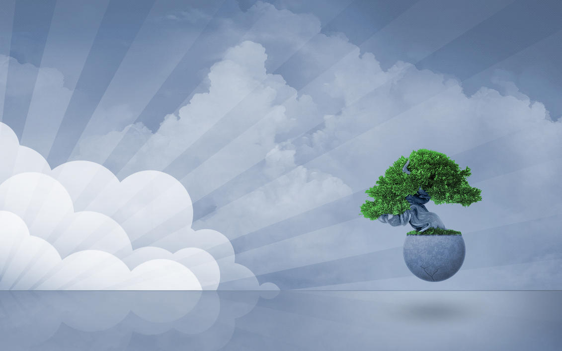 Tree of life wallpaper by ker on deviantart for Fond ecran zen