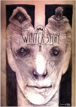 winter story book cover