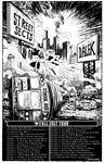 STREET SECTS Tour Poster BW