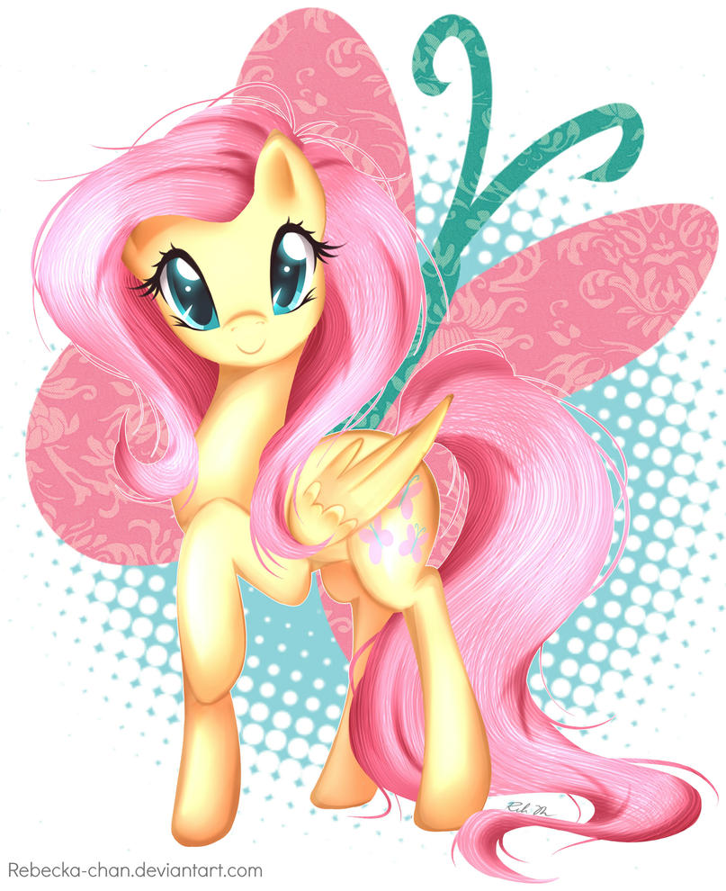 Fluttershy by Rebecka-chan