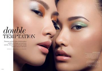 ELLE Indonesia: Double Temptation I