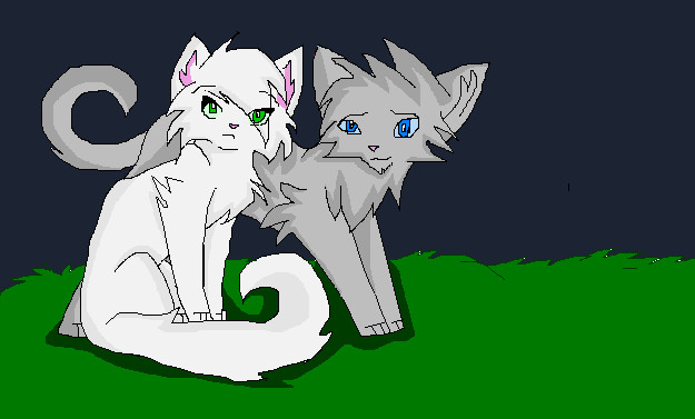 Silverleaf And Owlfeather Siblings By