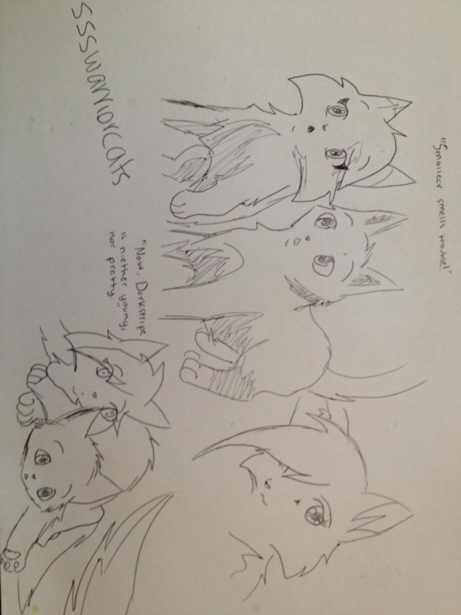 Graypaw and Firepaw - ssswarriorcats by AshtailXMoonfrostSsswarriorcats Graypaw
