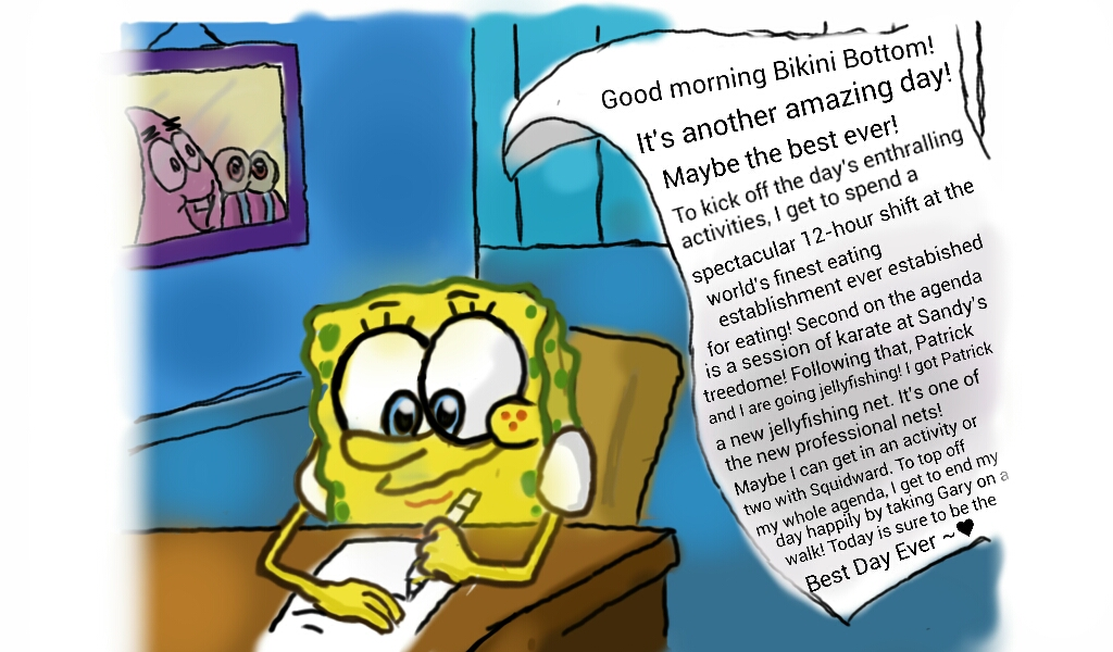 Alternative To The Spongebob's Suicide Picture by ...