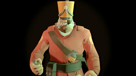 Turret's Soldier by turretart