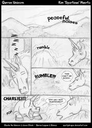 Gurren Unicorn Page 1 by spartydragon