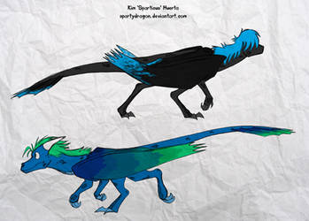 Stalking Dragons by spartydragon