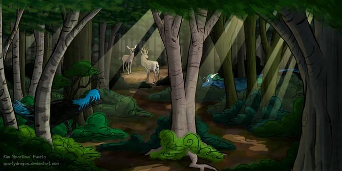 Dragon Hunt by spartydragon