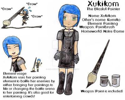 Xukikom - The Blissful Painter by Org-anization-X