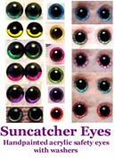 Suncatcher Eyes Sampler by ChezMichelle