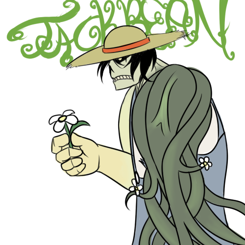Jack Bean, the Botanic Man by NuclearPrinter